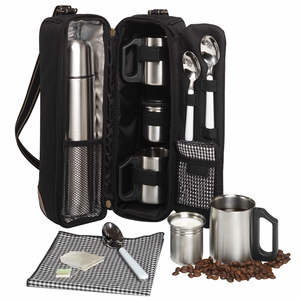 Coffee Tote with Flask - Click to enlarge