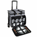 Deluxe Picnic Cooler On Wheels