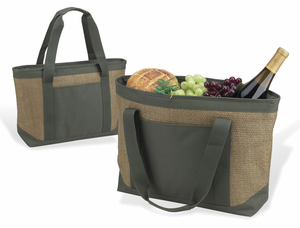 Eco Friendly Insulated Cooler Tote Bag - Click to enlarge