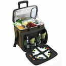 Eco Friendly Rolling Deluxe Picnic Cooler
