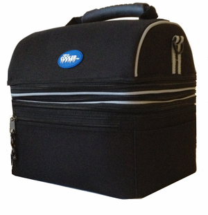 Grand Deluxe 2 Section Lunch Box Cooler - Click to enlarge