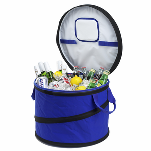 Large Collapsible Round Style Cooler - Click to enlarge