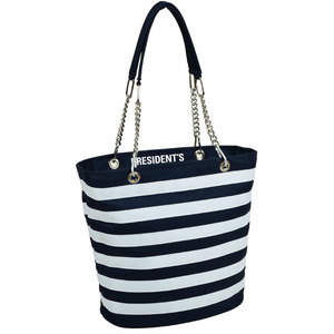 Striped Insulated Cooler Bag - Click to enlarge