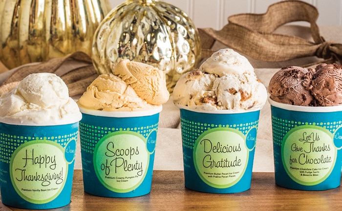 Thanksgiving Ice Cream Collection