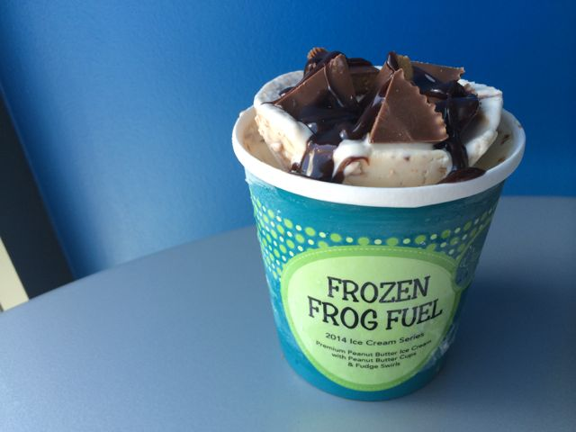 FROZEN FROG FUEL - OUT!