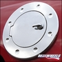 H2 Hummer & SUV Billet Chrome NON Locking Fuel Door