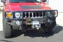 H3 Hummer Brushguard W/ Winch Plate