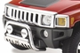 H3 Hummer Bull Bar by Westin in Chrome S.S.