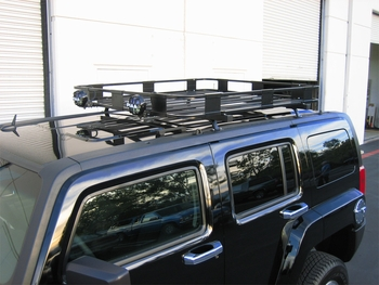 H3 Hummer Safari Roof Rack Base Kit