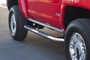 H3 Hummer Side / Nerf Bars Stainless Steel