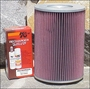 Hummer H1 K&N Air Filter Diesel