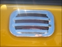 HUMMER H2 BILLET CHROME UPPER RUNNING LIGHT BEZELS