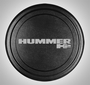 Hummer H2 Rigid Tire Cover - Black-Textured or Painted