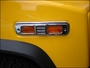 Hummer H2/SUT Billet Chrome Side Marker Light Covers