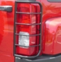 Hummer-H3 Black Tail Light Guards