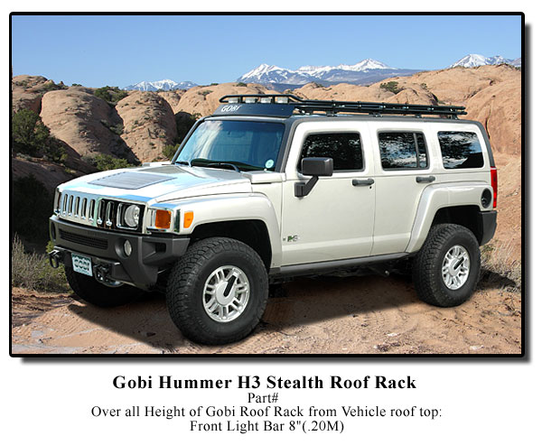Hummer H3 Gobi Stealth Roof Rack Free Shipping Amp Free Ladder