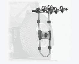 Hummer H3 Thule Spare Tire/Bike Carrier