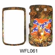 Blackberry 9800 Camo Hunter Series Cover Deer/Rebel Flag