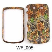Blackberry 9800/Torch Camo Cell Phone Cover Fall Leaves