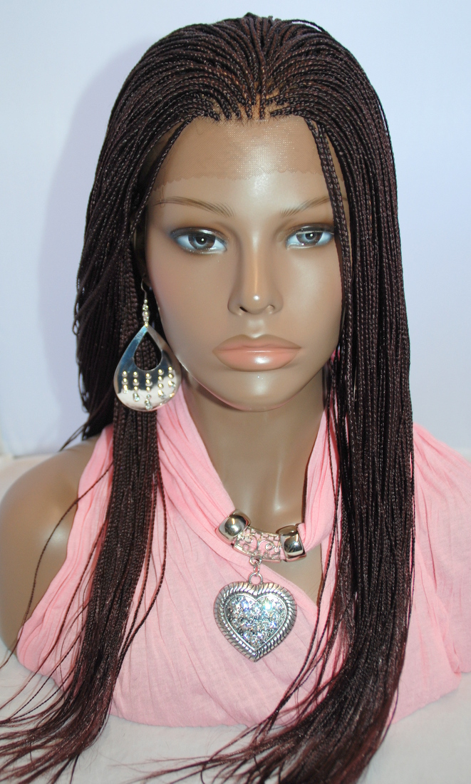 Micro Braids Lace Front Wigs Realistic Lace Front Wig
