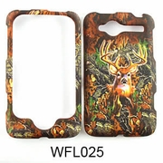 HTC WILDFIRE Camo Cell Phone Cover Deer