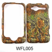 HTC WILDFIRE Camo Cell Phone Cover Fall Leaves