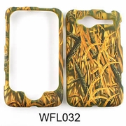 HTC WILDFIRE Camo Cell Phone Cover Grass