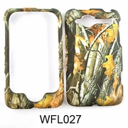 HTC WILDFIRE Camo Cell Phone Cover Leaves/Branches