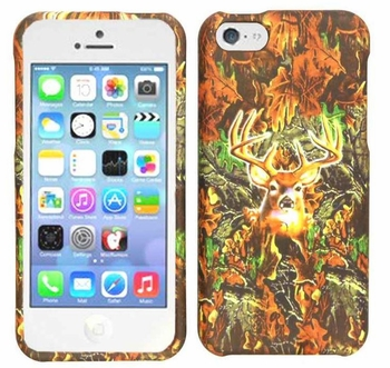 iPhone5C Camo Cell Phone Cover - Deer