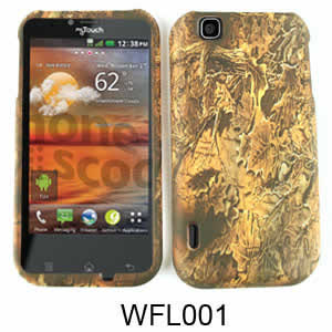 LG GT950/Arena Cell Phone Cover Camo Forest Leaves