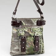 Realtree Camouflage Messenger bag - Coffee