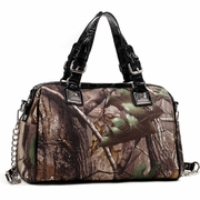 Realtree Camo Satchel Bag with Bonus Strap (500683-BK)