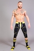 Renegade Defender Pant Jock - Black/Yellow