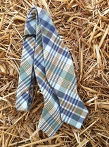 Hitsman - Blue/Green Plaid - Bow