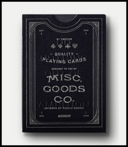 Misc. Goods Co. - Card Deck - Black