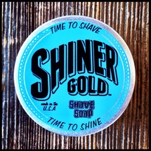Shiner Gold - Shave Soap