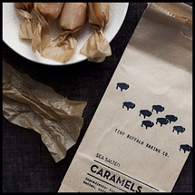 Tiny Buffalo - Salted Caramels - 10 Count