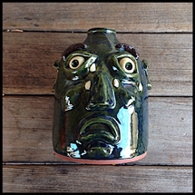 Vintage - Michael Boswell - Crying Face Jug