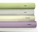 Egyptian Cotton Percale 350 Thread Count Extra Deep Pocket Sheet Set