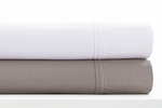 Tribeca Living Egyptian Cotton Percale 400 Thread Count Extra Deep Pocket Sheet Set
