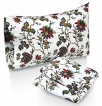 Rainforest Printed Deep Pocket Flannel Sheet Set