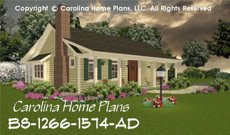 small expandable country house plan 2 3 bedrooms 1 2 baths 1 story