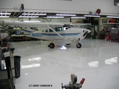 Commercial Floor Epoxy for Aircraft Hangars