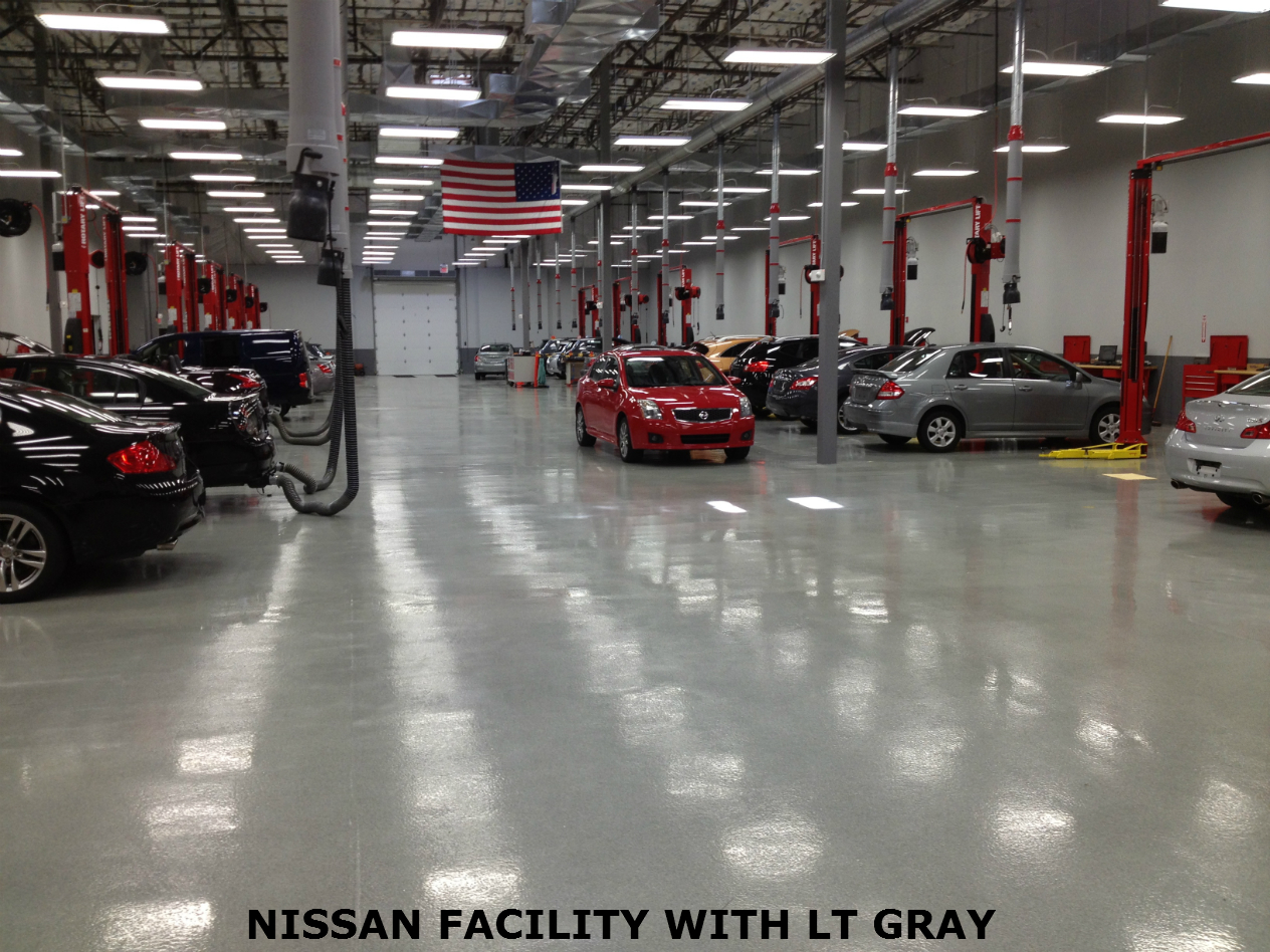Industrial Epoxy Flooring System Garage Epoxy Flooring