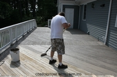 OUTDOOR WOOD & CONCRETE DECK RENEW IT  LIFETIME COATING