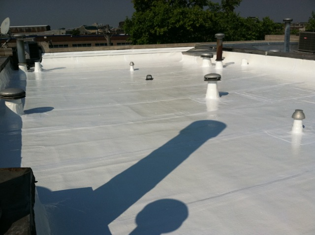 Ponding Water Roof Coating For Flat Roofs Waterproof