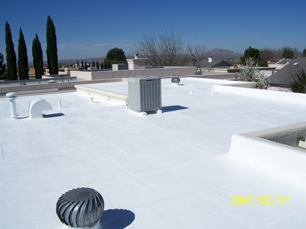 Roof Coating Commercial Rubber Protective