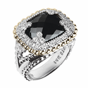 Alwand Vahan Onyx & Diamond Ring