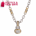 ALWAND VAHAN Sterling Silver, 14K Gold & Diamond Necklace