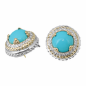 Alwand Vahan Turquoise & Diamond Earrings